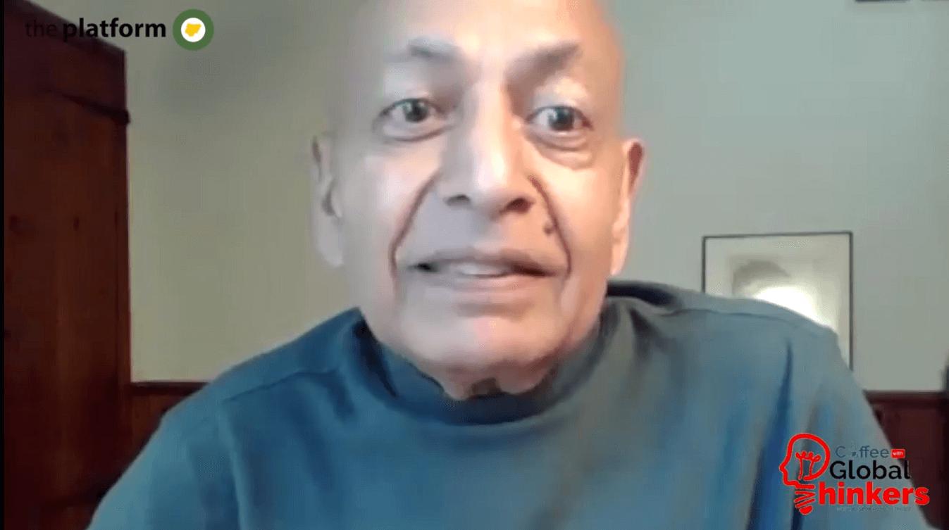 Prof Anil Gupta - Coffee With Global Thinkers