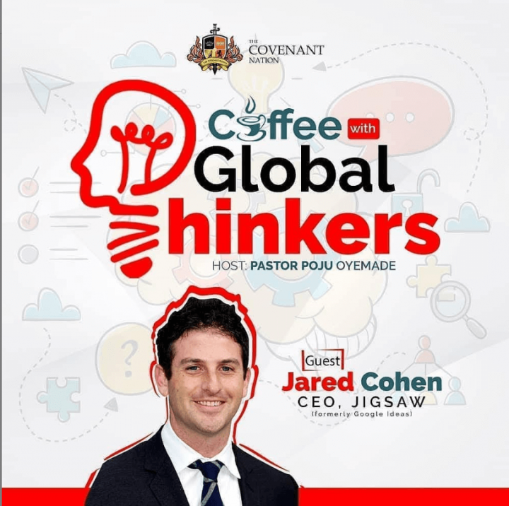 Coffee with Global thinker Jared Cohen