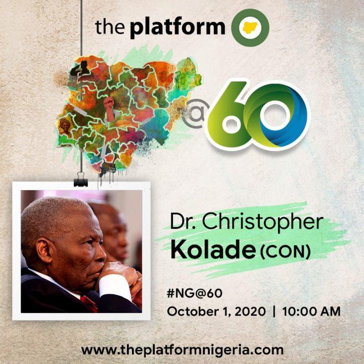 Dr Christopher Kolade NG@60
