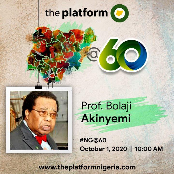 Prof Bolaji Akinyemi NG@60