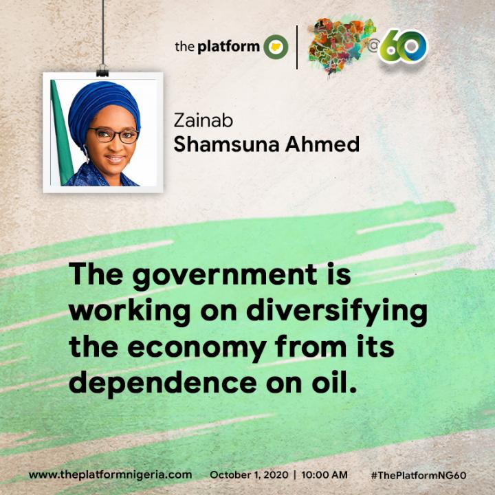 Zainab Shamsuna Ahmed NG@60